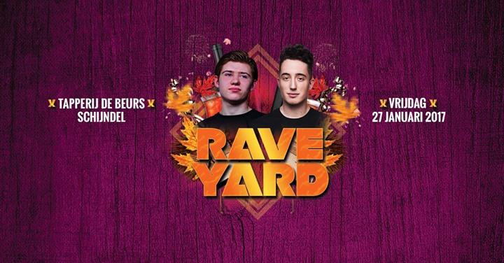Rave Yard invites Guerilla Crew & Debris